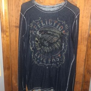 Men's affliction shirt reversible! Medium